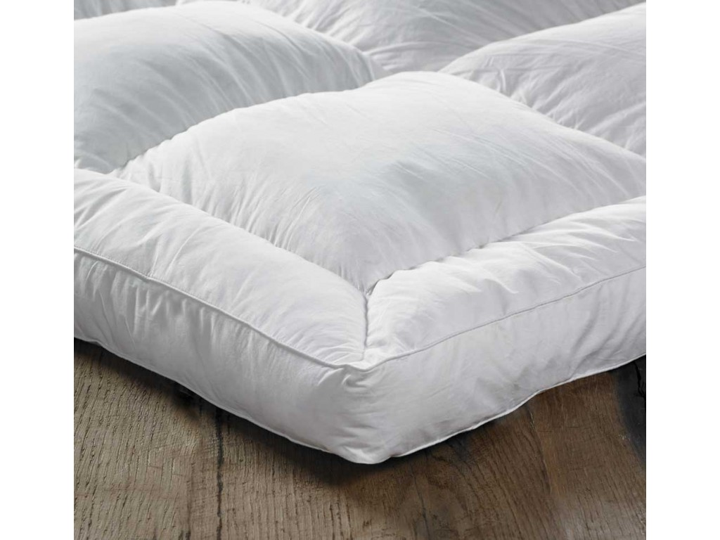 euroquilt 7cm european duck feather and down mattress toppers With european feather bed