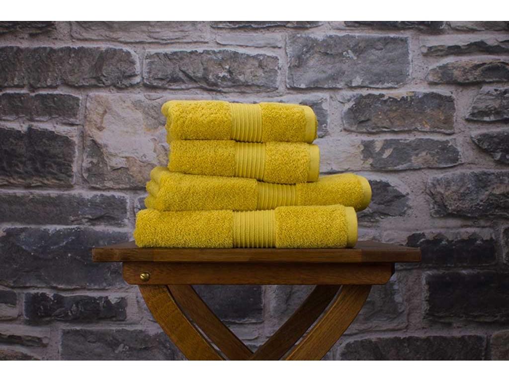 Deyongs 1846 Bliss Pima 650gsm Cotton Saffron Towel And