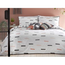 Appletree Tenley Coral Duvet Cover Sets