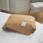 John Atkinson by Hainsworth® Duchess Pure Merino Wool Camel Blankets