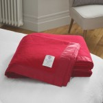 John Atkinson Duchess Pure Merino Wool Cherry Blanket