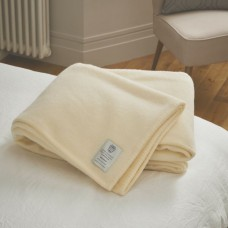 John Atkinson by Hainsworth® Harlequin Pure Wool White Blankets