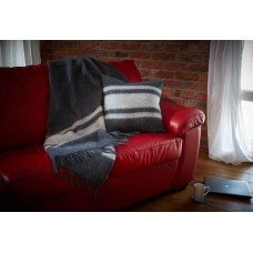 Scarlet and Argent Luxurious Heritage Winston Throw