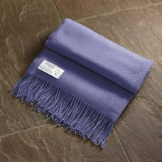 Scarlet and Argent Luxurious Twill & Granite Lavender Throw and Cushion