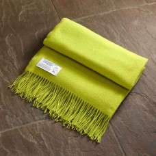 Scarlet and Argent Luxurious Twill & Granite Lime Throw and Cushion