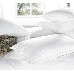 Euroquilt Hotel Quality White Duck Feather and Down Pillows