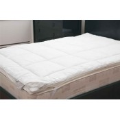 Natural Silk or Wool Mattress Toppers