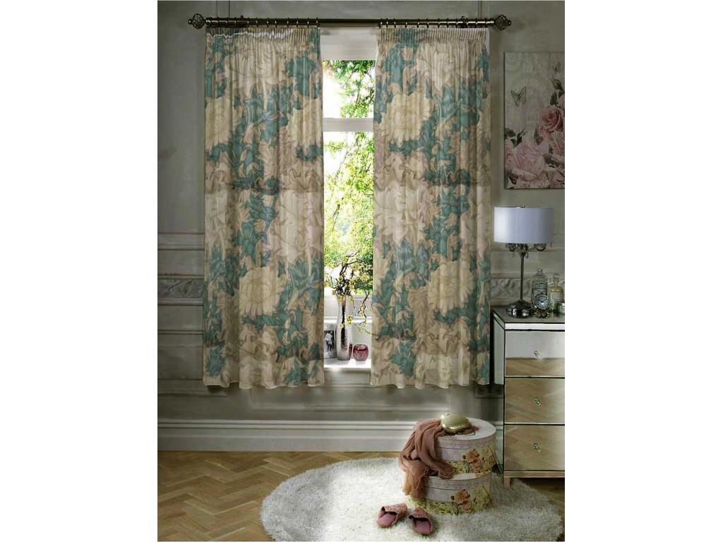 William Morris Chrysanthemum Lined Curtain Pairs
