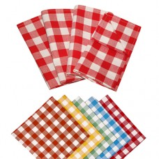Le Chateau Country Woven Check Napkins