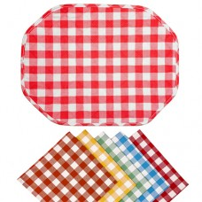 Le Chateau Country Woven Check Placemats