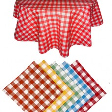 Le Chateau Country Woven Check Table Cloths