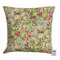 William Morris Gallery Golden Lily Cushions