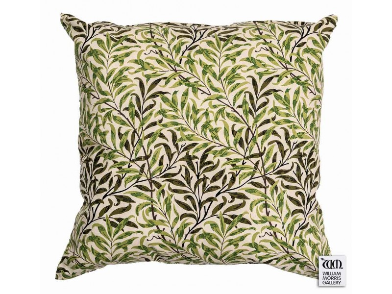 William Morris Gallery Willow Bough Green Cushions