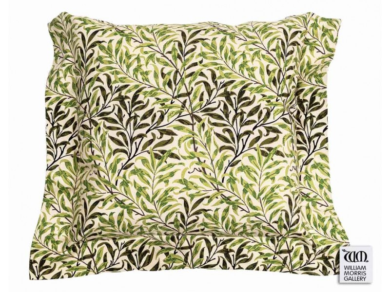William Morris Gallery Willow Bough Green Oxford Seat Pads
