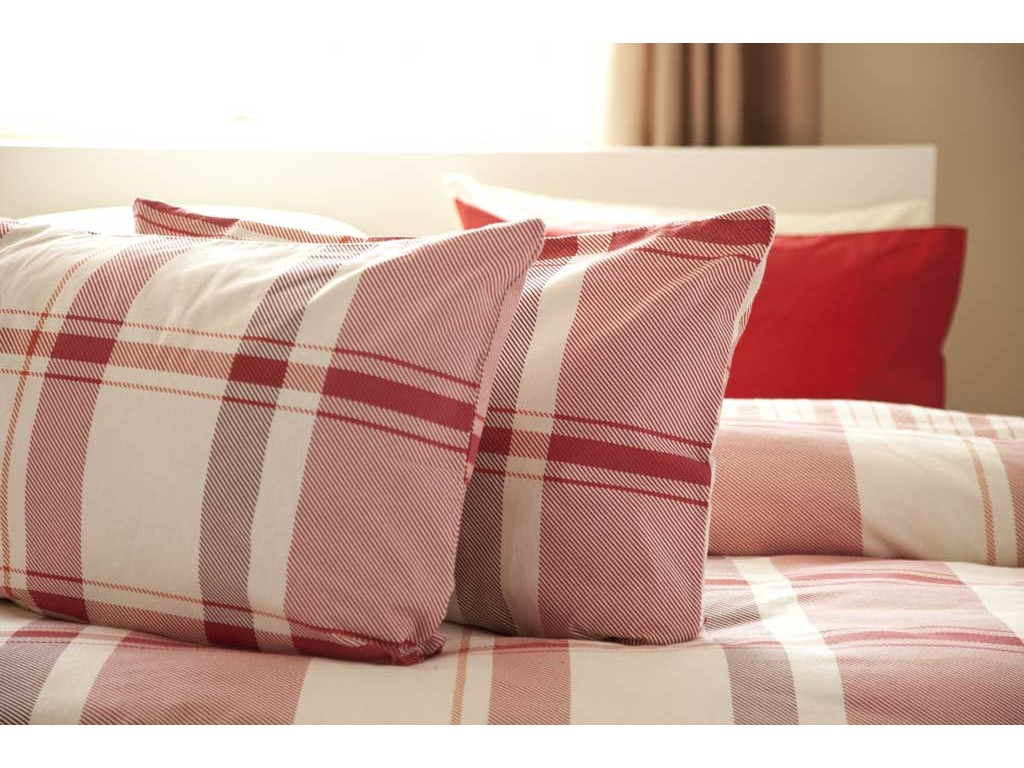 cotton set pillowcase and brushed marianna cover duvet main dorma product red