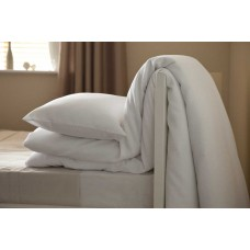 Maison Blanche Waffle Weave White Duvet Cover Sets