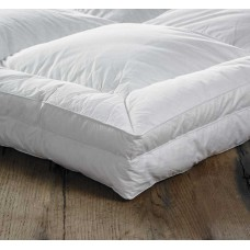 Euroquilt Extra Deep 100% Siberian Goose Down Combination Mattress Toppers