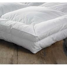 euroquilt extra deep 100 siberian goose down combination mattress toppers