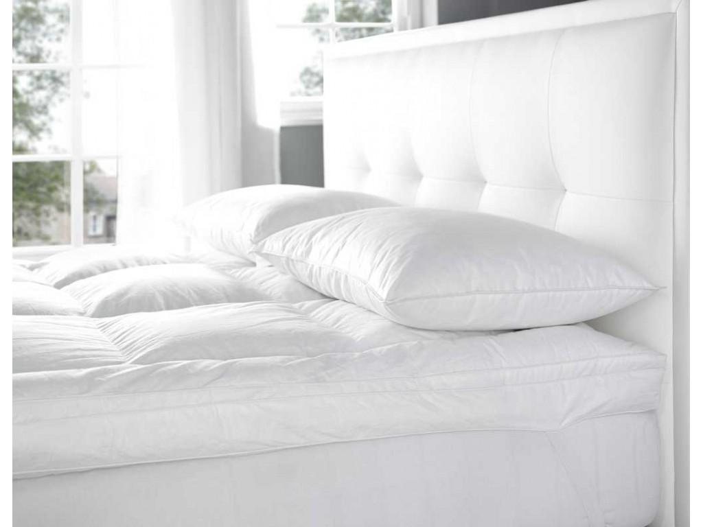 euroquilt standard fill combo 70 european goose down mattress topper