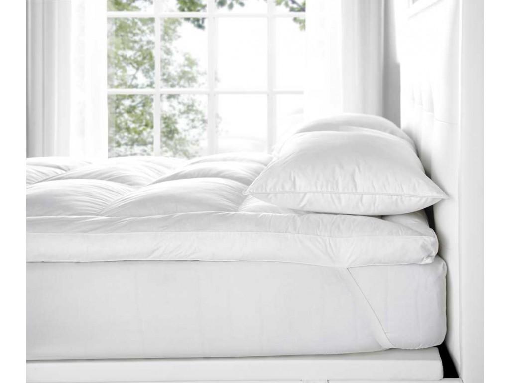 Euroquilt Luxurious Hotel Quality 30 Down Mattress Toppers
