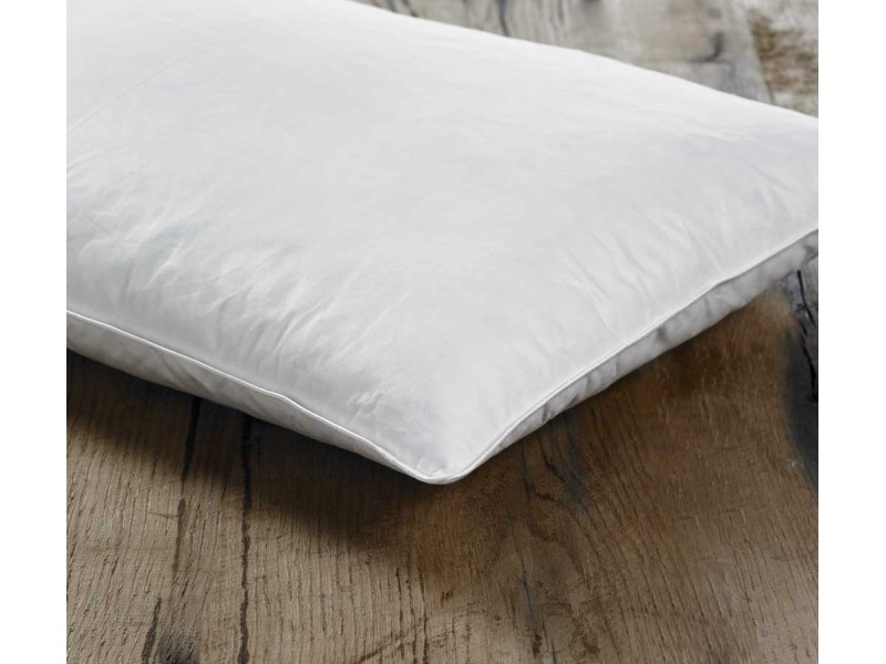 Euroquilt Hungarian Goose Feather and Down Firm Pillows