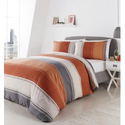 Fusion Betley Spice Duvet Cover Sets and Curtains
