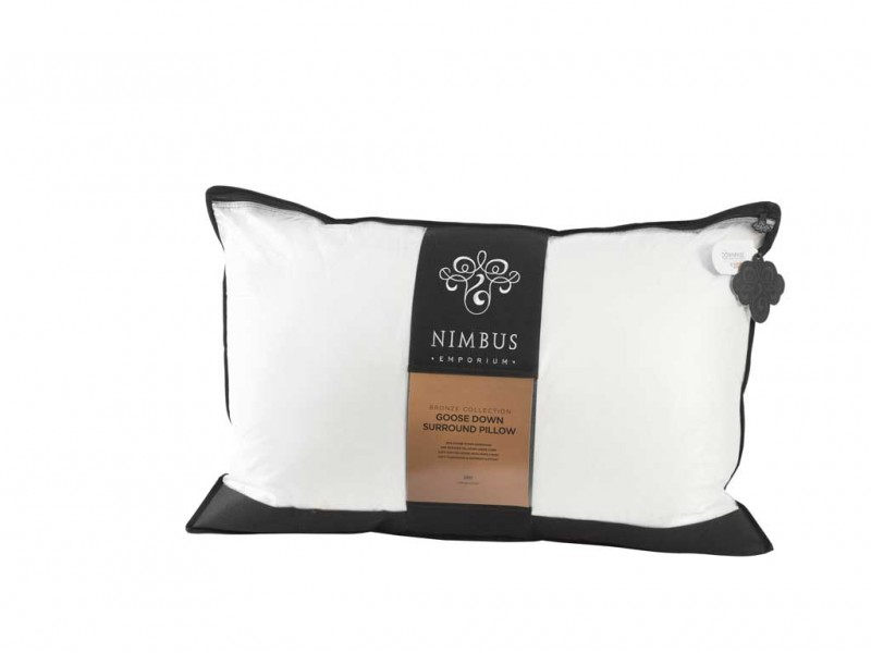 New Nimbus Emporium Bronze Goose Down Surround Pillow