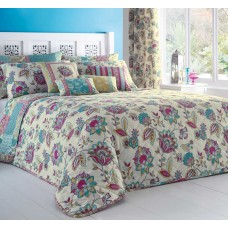Dreams n Drapes Marinelli Multi Bedspread