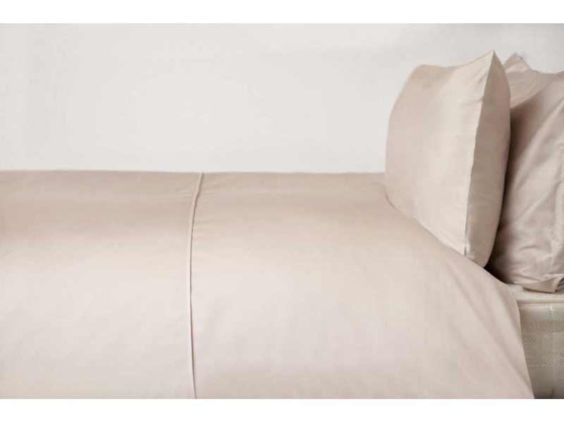 Belledorm 450 Thread Count Pima Cotton Oyster Duvet Covers