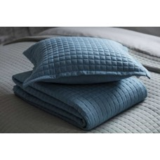 Belledorm Crompton Cobalt Throw and Cushion