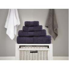 Deyongs 1846 Bliss Pima 650gsm Cotton Aubergine Towel and Mat Range