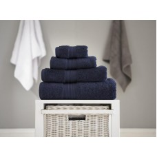 Deyongs 1846 Bliss Pima 650gsm Cotton Navy Towel and Mat Range