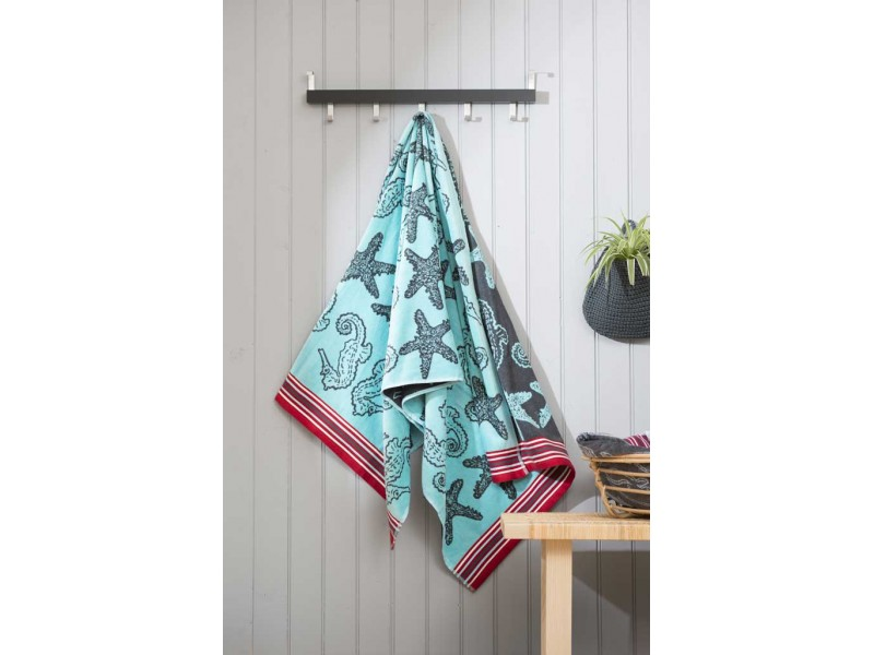 Deyongs 1846 Egyptian Cotton Coral Reef Beach Towels