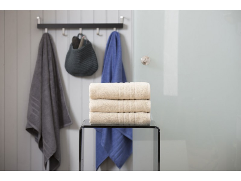 Deyongs 1846 Zero Twist 450gsm Pure Cotton Almond Towels