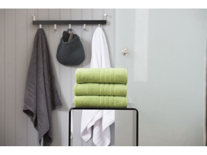 Deyongs 1846 Zero Twist 450gsm Pure Cotton Apple Towels