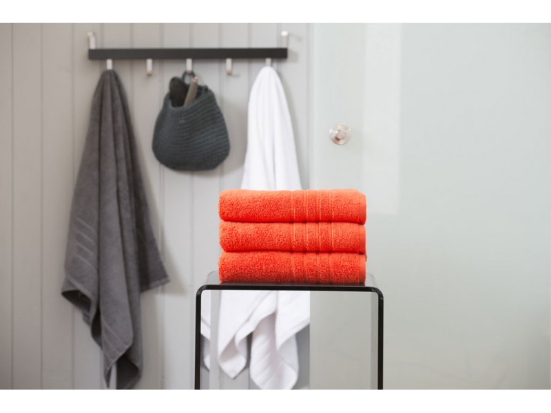 Deyongs 1846 Zero Twist 450gsm Pure Cotton Pumpkin Towels