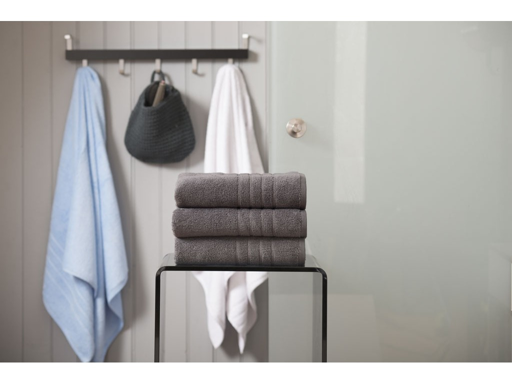 Deyongs 1846 Zero Twist 450gsm Pure Cotton Granite Towels
