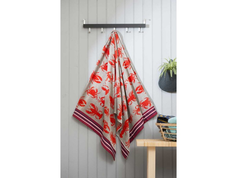 Deyongs 1846 Egyptian Cotton Crab Shack Beach Towels
