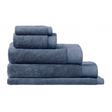 Sheridan Sale Retreat Turkish Smokey Blue Cotton Towels and Mat