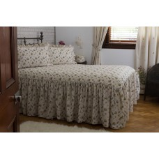 Country Dream Bella Mae Fitted Quilted Bedspread