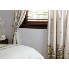 Country Dream Bella Mae Lined Curtains with Tie Backs