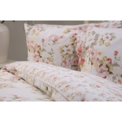 Country Dream Cherry Blossom Brushed Cotton Bedlinen