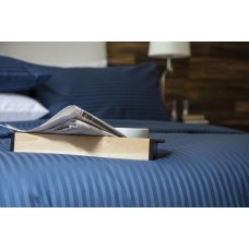 Belledorm Hotel Suite 540 Thread Count Egyptian Cotton Navy Fitted Sheets
