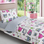 Driftwood Animal Faces Bedlinen and Coordinates