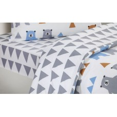 Driftwood Bears Fitted Sheets