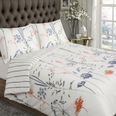 Driftwood Floral Stripes Duvet Cover Sets