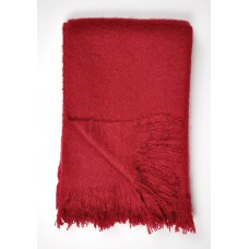 Dreams n Drapes Alexa Red Throw