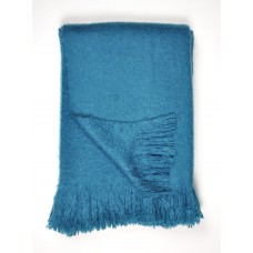 Dreams n Drapes Alexa Teal Throw