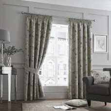 Curtina Andria Natural Pencil Pleat Curtains and Cushions