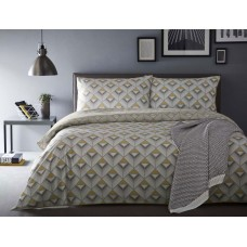 Appletree Axis Yellow Duvet Cover Sets